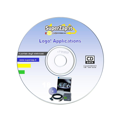 CDRom con applicativi per Siemens Logo!